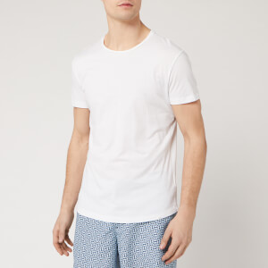 Orlebar Brown Men's Crewneck T-Shirt - White