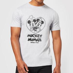 Disney Minnie Mickey Since 1928 T-Shirt - Grey
