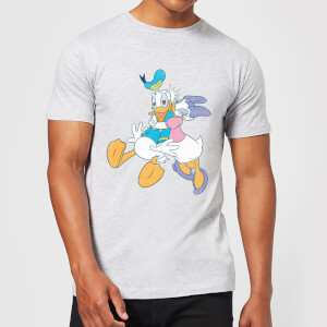 Disney Donald Daisy Kiss T-Shirt - Grey