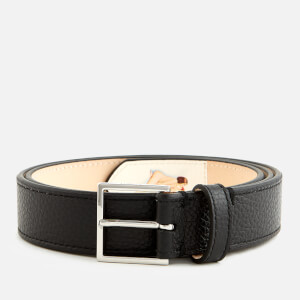 Paul Smith Accessories Men's Naked Lady Leather Belt - Black
