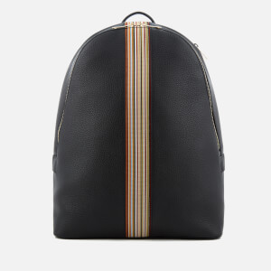 Paul Smith Accessories Men's Tape Detail Rucksack - Black