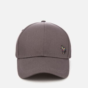 Paul Smith Accessories Men's Zebra Logo Cap - Grey