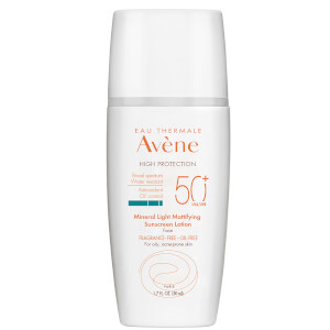 Avène Mineral Light Mattifying Sunscreen Lotion SPF 50+