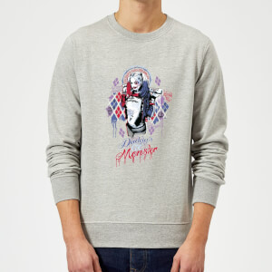 DC Comics Suicide Squad Daddys Lil Monster Sweatshirt - Grey
