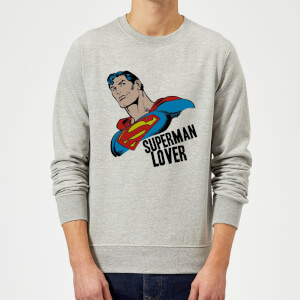 DC Originals Superman Lover Sweatshirt - Grey