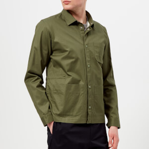 Folk Men's Painters Jacket - Military Green