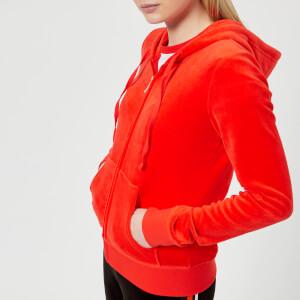 Juicy Couture Women's Velour Robertson Jacket - City Rouge