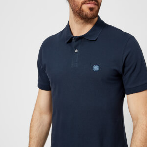 Pretty Green Men's Hartford Short Sleeve Polo Shirt - Navy