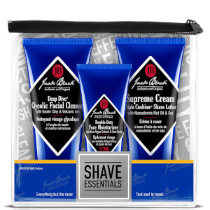 Conjunto Shave Essentials da Jack Black