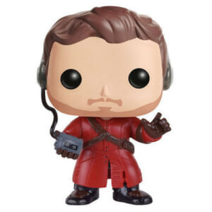 Marvel Guardians of the Galaxy Star-Lord with Mix Tape EXC Pop! Vinyl Figure