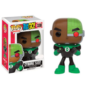 Teen Titans Go! Cyborg as Green Lantern Funko Pop! Figuur (Exc)