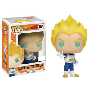 Dragon Ball Z Blue and White Super Saiyan Vegeta EXC Pop! Vinyl Figure