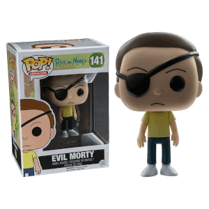 Rick and Morty Evil Morty EXC Pop! Vinyl Figure