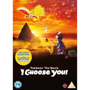 Pokemon The Movie: I Choose You! DVD with Bonus First Movie Disc