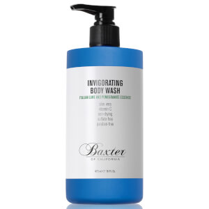 Baxter of California Invigorating Body Wash -vartalopesu (473ml – iso koko), Italian Lime and Pomegranate