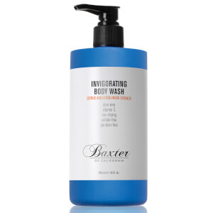 Baxter of California Invigorating Body Wash -vartalopesu (473ml – iso koko), Citrus and Herbal Musk