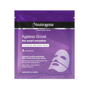 Neutrogena Ageless Boost Hydrogel Recovery Mask maschera anti-età 30 ml