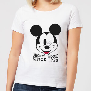 Disney Mickey Mouse Since 1928 Dames T-shirt - Wit