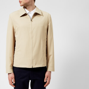 Aquascutum Men's Cliff Nylon Harrington Jacket - Beige