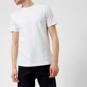 Aquascutum Men's Southport CC Shoulder Short Sleeve T-Shirt - White