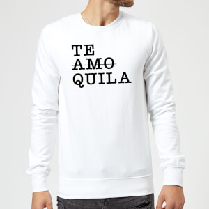 Te Amo/Quila Pullover - Weiß