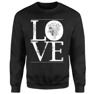 Anatomic Love Sweatshirt - Black