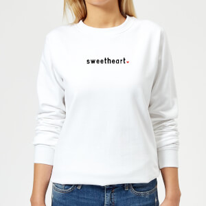 Sweetheart Women's Sweatshirt - White