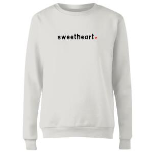 Sweetheart Women's Sweatshirt - White
