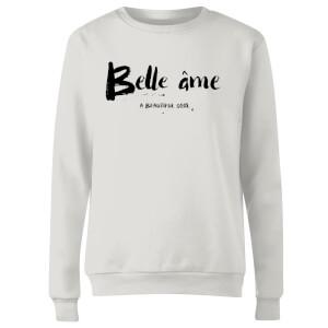 Belle Ame Women's Sweatshirt - White