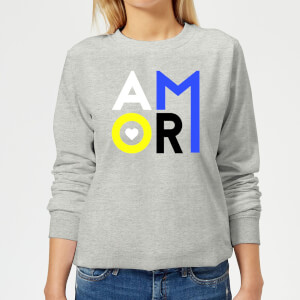 Amor Women's Sweatshirt - Grey