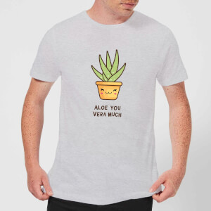 Aloe You Vera Much T-Shirt - Grey