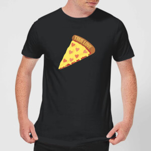 True Love Pizza T-Shirt - Black