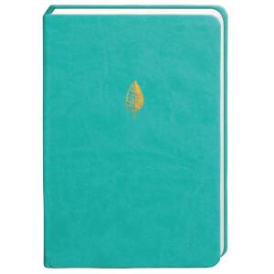 Sky + Miller Leaf Notebook - Teal