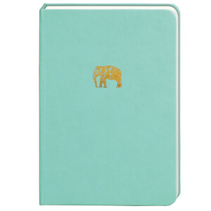 Sky + Miller Elephant Notebook - Mint