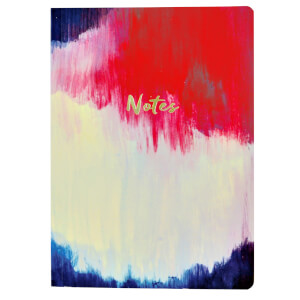 Portico Designs A5 Notebook - Brushstroke