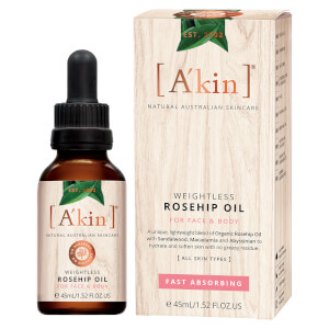 A'kin Weightless Rosehip Oil 45 ml