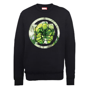 Sudadera Marvel Los Vengadores Montaje Puño Hulk - Hombre - Negro