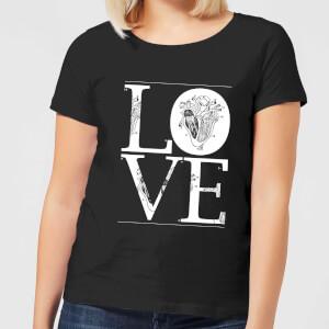 Anatomic Love Women's T-Shirt - Black