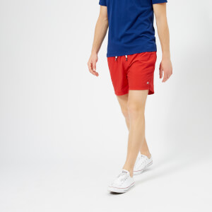 Tommy Hilfiger Men's Short Drawstring Swim Shorts - Flame Scarlet