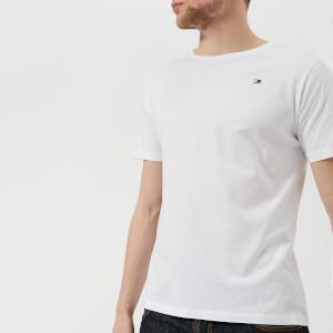 Tommy Hilfiger Men's Flag Logo T-Shirt - Bright White