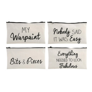 Absolutely Fabulous Assorted Zipped Make Up Bag