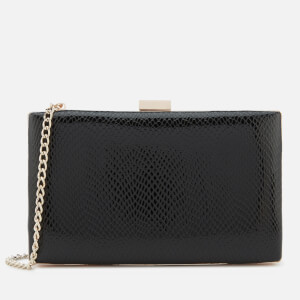 Dune Women's Bronto Box Clutch Bag - Black