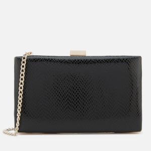 Dune Women's Bronto Box Clutch Bag - Black
