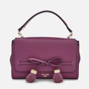 Dune Women's Essey Bow Bag - Berry