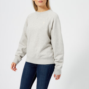 Polo Ralph Lauren Women's Logo Sweatshirt - Light Sport Heather