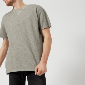 Edwin Men's Short Sleeve Sweatshirt - Mouline Grey