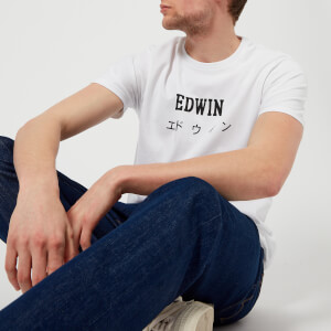 Edwin Men's Edwin Japan T-Shirt - White: Image 3