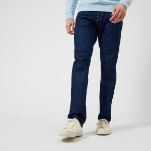Edwin Men's ED-55 Regular Tapered Jeans - Rinsed