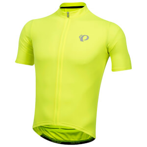 Pearl Izumi SELECT Pursuit Jersey - Screaming Yellow/Black Diffuse