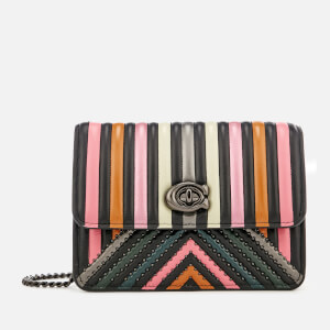 Coach Women's Bowery Cross Body Bag - Black Multi